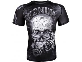 rashguard venum santa muerte short sleeve f1