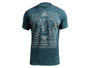 hayabusa warrior t shirt blue main