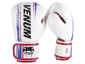boxerske rukavice box gloves venum bangkok spirit white fightexpert f1