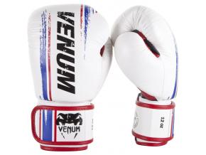 boxerske rukavice box gloves venum bangkok spirit white fightexpert f1