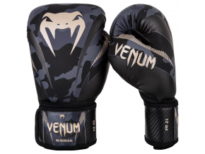 venum boxing gloves rukavice box impact dark camo sand f5