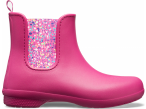 Crocs Freesail Chelsea Boot W - Berry/Dots