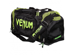 sport bag venum trainerlite black neoyellow f7