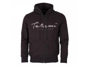 mikina hoodie tatami script black fightexpert f1