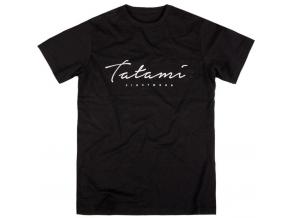 tshirt triko tatami script cerne black fightexpert f1