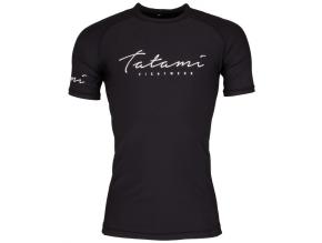 rashguard tatami script cerny black f1
