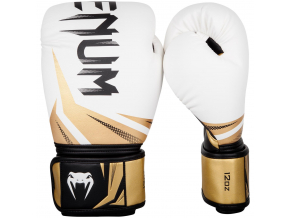 boxing gloves venum rukavice challenger 3.0 white black gold f1
