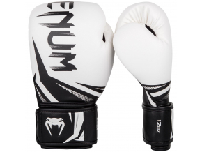 boxing gloves venum rukavice challenger 3.0 white black f1