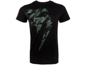 tshirt triko venum tecmo giant khaki black f1