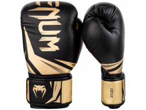 boxing gloves venum rukavice challenger 3.0 black gold f0