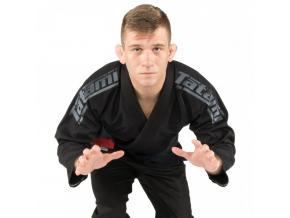 bjj kimono gi tatami fightwear srs 2 black f1