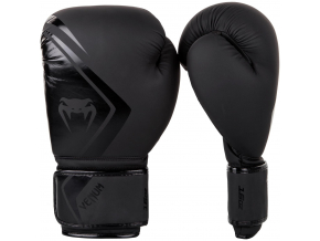 venum boxing gloves contender 2 black f1