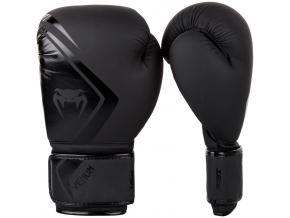 venum boxing gloves contender 2 black f1