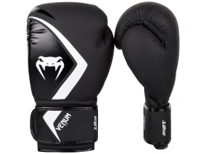 boxing gloves box rukavice venum contender 2 black white f1