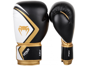 boxing gloves box rukavice venum contender 2 black gold f1