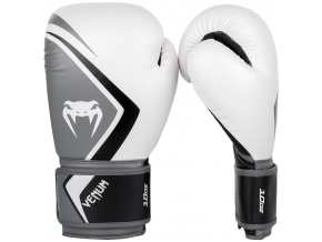 boxing gloves box rukavice venum contender 2 white grey f1
