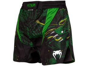 fightshorts venum tecmo greenviper black green f1