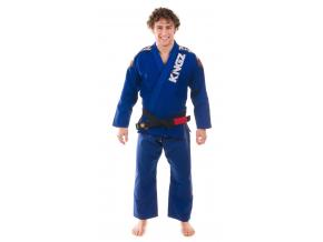bjj kimono gi kingz ultralight modre f1