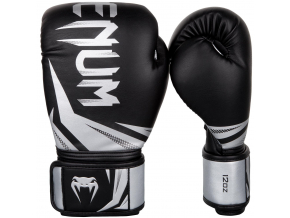 boxing gloves venum challenger 3.0 black silver f1