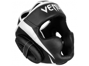 headgear box venum mma elite black white f1