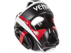 venum box mma elite headgear black red ice f1