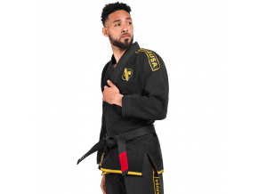 bjj gi hayabusa lightweight black gold f4
