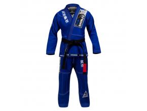 bjj gi kimono hayabusa shinju 3 blue f1