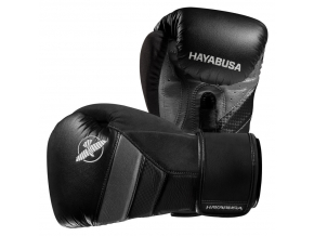 boxerske rukavice hayabusa t3 cerne sede f1