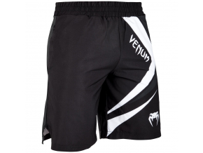fitness short venum contender4 black white f1