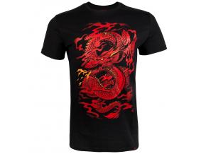 tshirt venum dragons flight black red f1
