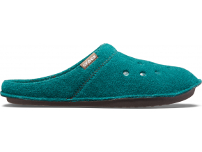 Crocs Classic Slipper - Evergreen/Stucco