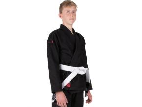 bjj gi kimono kids tatami estilo 6 black f1
