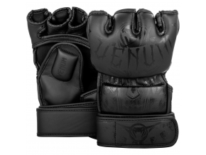 mma gloves venum gladiator black black f1