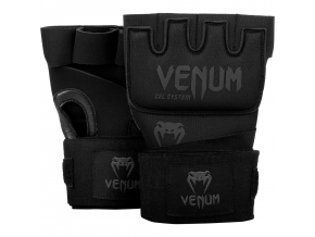 gel gloves venum kontact black black f1