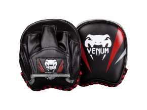 mini punch venum mitts elite black f1