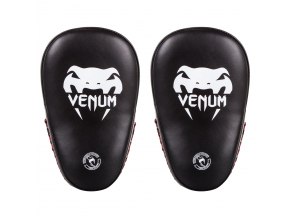 small kick pads venum elite black f1