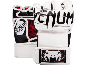 mma gloves rukavice venum undisputed white f1