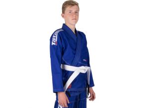 detske gi kimono bjj tatami kids estilo6 blue f1