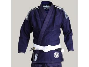 bjj gi kimono valor bravura deluxe navy f1