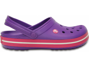 Crocs Crocband - Neon Purple/Candy Pink