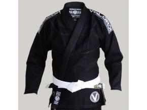 bjj gi kimono valor bravura deluxe black f1