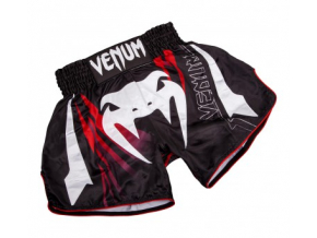 Šortky Venum Sharp 3.0 Muay Thai - Black/Red