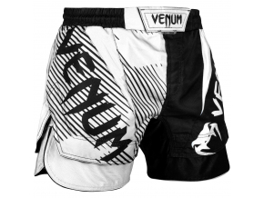 fight shorts venum nogi white f1