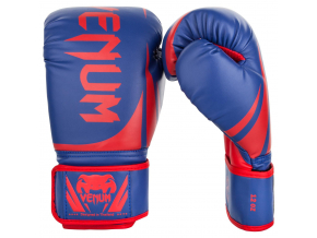 boxing gloves box venum challenger blue red f1
