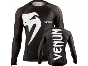venum rashguard giant ls black f1
