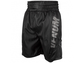 fightshorts mma venum boxing short elite black f1