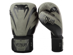 boxing gloves venum impact khaki black f1