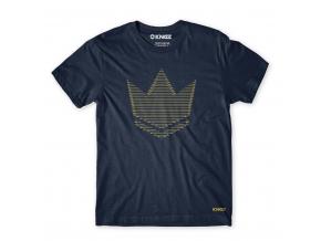 kingz tshirt wire tee navy f1