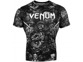 rashguard short sleeves venum art black f1