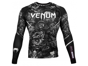 rashguard venum art long sleeves black f1